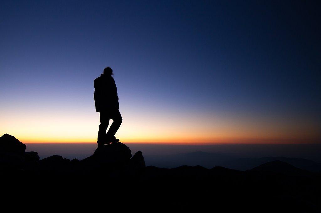 lever de soleil depuis le canigou
